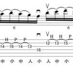 レガート奏法基本プラクティス